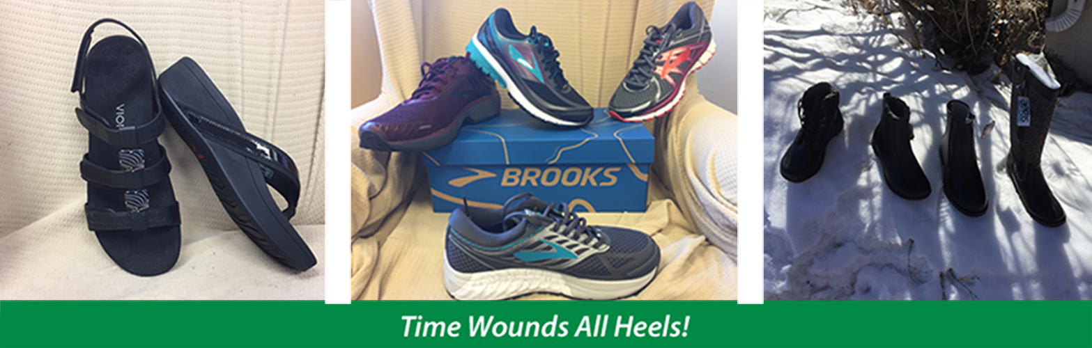 Time Wounds all Heels | Boreal storefront and orthotics